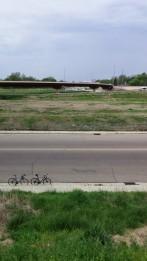 Vacant Land around Interstates.